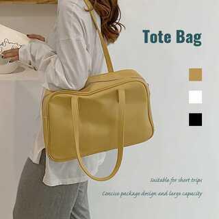 トートバッグ レディース ハンドバッグ 肩掛け 大容量鞄 A4 韓国 クラシック