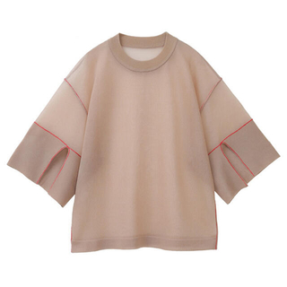 STUDIOUS - SEE-THROUGH LINE KNIT TOPS❤︎サイズ1