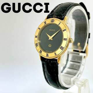 グッチ(Gucci)のグッチ時計 レディース腕時計 3001L アンティーク ブラック(腕時計)