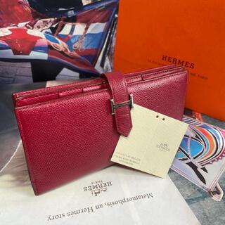 Hermes - 【正規品】HERMES 美品 ✨ エルメス 『べアン』スフレ 長財布