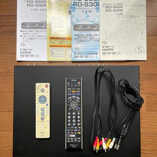 トウシバ(東芝)のTOSHIBA  HDD &DVDレコーダー  VARDIA  RD-S600(DVDレコーダー)