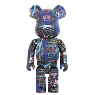 メディコムトイ(MEDICOM TOY)のBE@RBRICK JEAN-MICHEL BASQUIAT #7 1000%(フィギュア)
