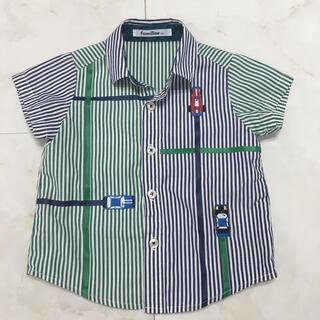 familiar - ファミリア⭐︎半袖シャツ90