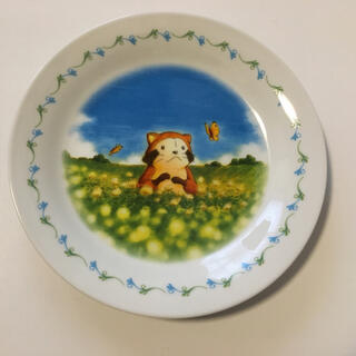 ヤマザキセイパン(山崎製パン)の【非売品】あらいぐまラスカル お皿(食器)