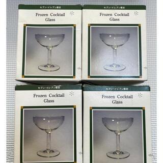 セブンイレブン限定 景品 4個 frozen cocktail glass