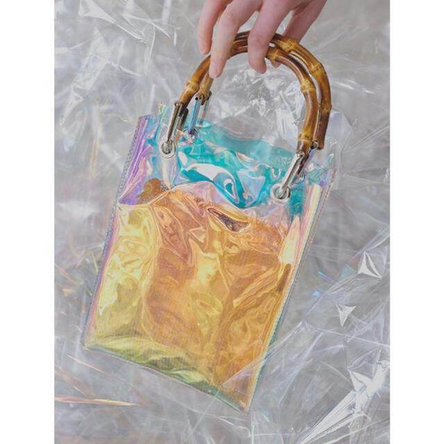Ameri VINTAGE(アメリヴィンテージ)のMEDI AURORA CLEAR BAG レディースのバッグ(ショルダーバッグ)の商品写真