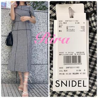 snidel - 完売🌷新作新品🍀スナイデル 【ONLINE限定】メローデザインワンピース