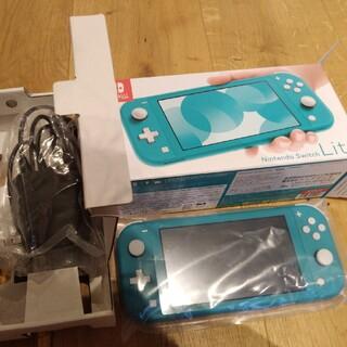 Nintendo Switch - Nintendo Switch light ターコイズ 送料込み