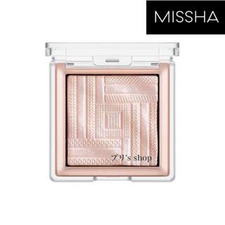 ミシャ(MISSHA)の【新品】MISSHAミシャ セテンハイライターイタルプリズム オッドアイ(フェイスカラー)