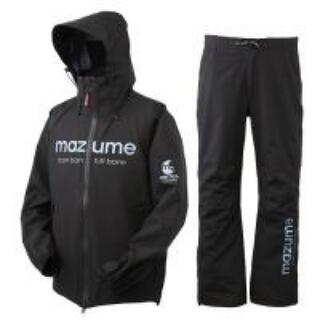 mazume コンタクトレインスーツ ブラック XL マズメ(ウエア)