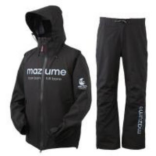 mazume コンタクトレインスーツ ブラック Lサイズ マズメ(ウエア)