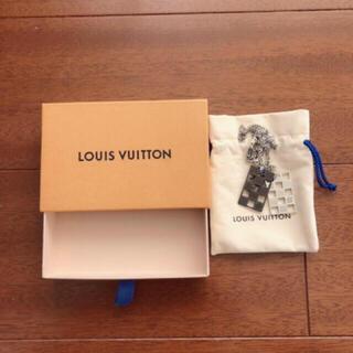 LOUIS VUITTON - 新品 ルイヴィトン ダミエパーフォレート プレート ネックレス