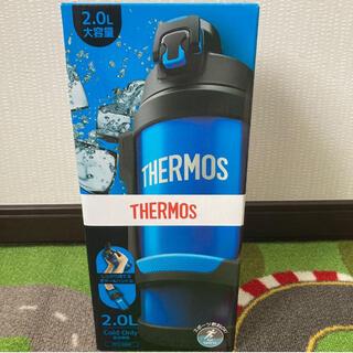 サーモス(THERMOS)の【新品未使用】サーモス スポーツジャグ/THERMOS/水筒/2.0L/ブルー(その他)