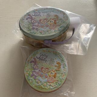 ダッフィー(ダッフィー)の♡ダッフィー・スプリングインブルーム♡パスタ缶・クッキー缶(キャラクターグッズ)