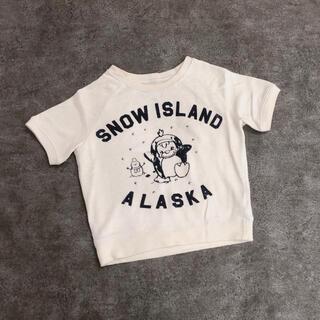 ロデオクラウンズワイドボウル(RODEO CROWNS WIDE BOWL)のRCWB*ロデオクラウンズ*ベビーキッズ*Tシャツ*アイボリー*XS90〜95(Tシャツ/カットソー)
