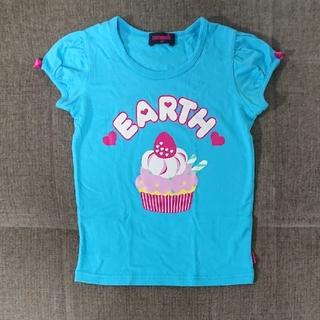 アースマジック(EARTHMAGIC)の130cm アースマジック カップケーキ柄Tシャツ(Tシャツ/カットソー)