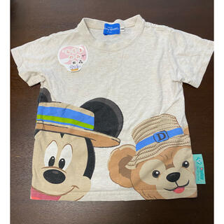 ディズニー(Disney)の東京ディズニーシー ダッフィーミッキーシャツ 100 中古(Tシャツ/カットソー)