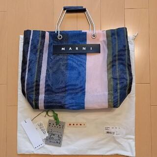 Marni - 本日のみの値下げ❕美品☆マルニ フラワーバッグ マルチカラー ストライプ
