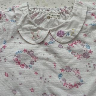 クーラクール(coeur a coeur)の100 クーラクール シェル柄Tシャツ 夏物 半袖 (Tシャツ/カットソー)