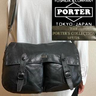 PORTER - 希少!PORTER'Sポーターズコレクション レザーショルダーバッグ