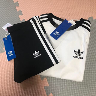 adidas - 値下げ新品☆アディダス オリジナル☆Tシャツ パンツ セット☆130サイズ