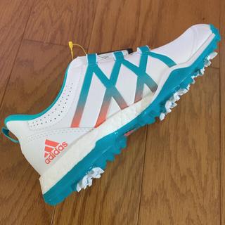 アディダス(adidas)のアディダス ゴルフシューズ  adidas Boa+Boost 新品(シューズ)