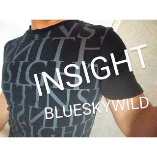 インサイト(INSIGHT)のINSIGHTインサイトサーフスタイル デカロゴインパクトTシャツ   英語文字(Tシャツ/カットソー(半袖/袖なし))