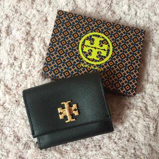 トリーバーチ(Tory Burch)の【決算大セール】トリーバーチの折財布☆ブラック 新品 SALE中❣️(財布)