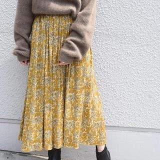 シップスフォーウィメン(SHIPS for women)のSHIPS for womenフラワープリントスカート(ロングスカート)