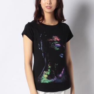 アイオーデータ(IODATA)の新品✨タグ付き♪ シスレー 綿素材のTシャツ ブラック 3サイズ 大特価‼️(Tシャツ(半袖/袖なし))