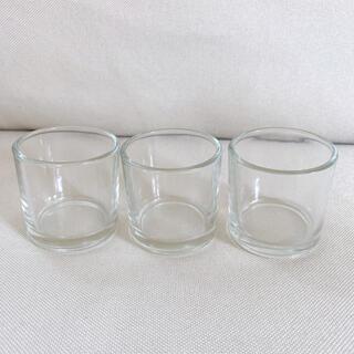 ガラス瓶 空瓶 ガラス容器*3個セット(各種パーツ)