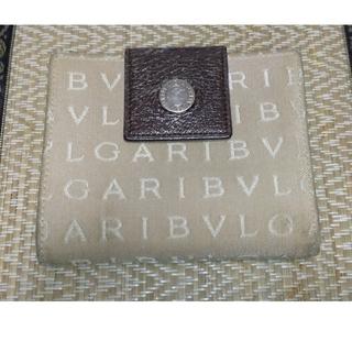 ブルガリ(BVLGARI)のBVLGARI ボタンホック式 二つ折り財布 中古 送料無料(折り財布)