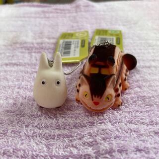 ジブリ(ジブリ)のジブリ 小トトロ 猫バス キーホルダー(キャラクターグッズ)