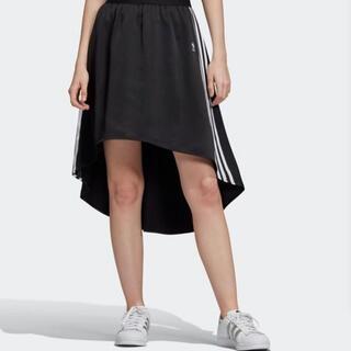 アディダス(adidas)のadidasoriginals スカート(ひざ丈スカート)