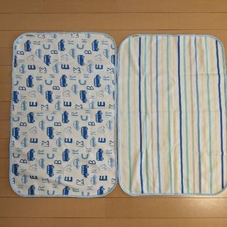 ニシマツヤ(西松屋)のお値下げ☆西松屋 おむつ替えシート 2枚組(おむつ替えマット)