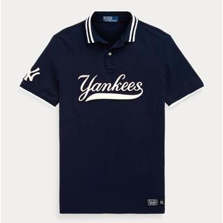 ポロラルフローレン(POLO RALPH LAUREN)のMLB Ralph Lauren Yankees ポロシャツ L ラルフローレン(ポロシャツ)