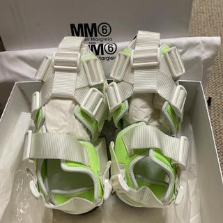 エムエムシックス(MM6)のMM6 メゾンマルジェラ サンダル 36 レディース 新品(サンダル)
