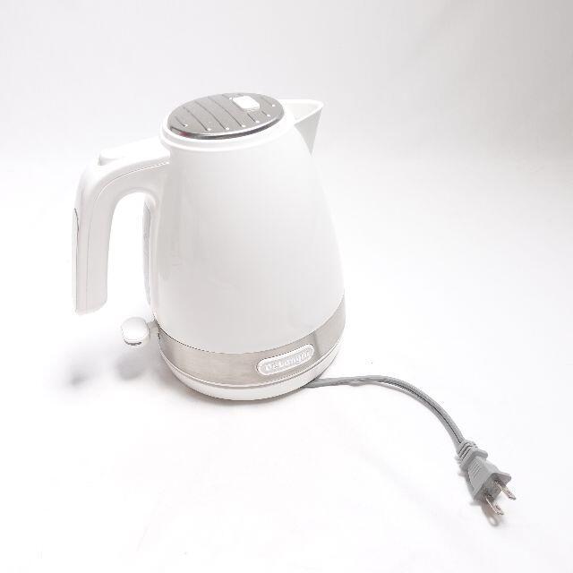 DeLonghi(デロンギ)のDe'Longhi アクティブシリーズポット KBLA1200JW スマホ/家電/カメラの生活家電(電気ポット)の商品写真