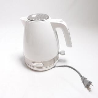 デロンギ(DeLonghi)のDe'Longhi アクティブシリーズポット KBLA1200JW(電気ポット)