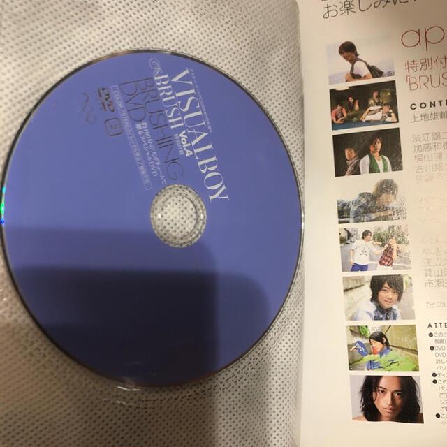 ビジュアルボーイ・ブラッシュ Vol.4 (DVD付)  エンタメ/ホビーの雑誌(アート/エンタメ/ホビー)の商品写真