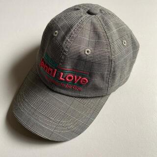 ジェニィ(JENNI)の【Jenni love】チェックキャップ キッズキャップ(帽子)