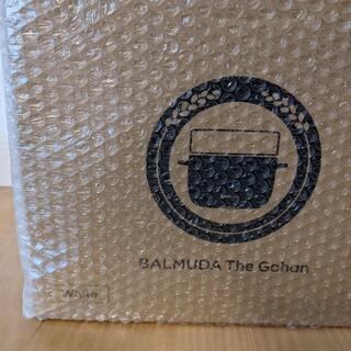 バルミューダ(BALMUDA)のFIRST様専用バルミューダ ザ・ゴハン ホワイト K03A-WH(炊飯器)