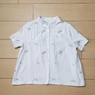 ミナペルホネン(mina perhonen)のミナペルホネン choucho ブラウス 38(Tシャツ(半袖/袖なし))