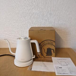 バルミューダ(BALMUDA)のBALMUDA The Pot バルミューダポットK02A-WH(電気ケトル)