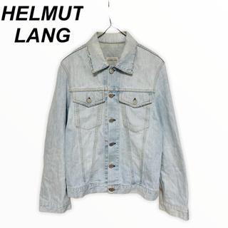 ヘルムートラング(HELMUT LANG)の初期 HELMUT LANG ヘルムートラング ビンテージ加工 デニムジャケット(Gジャン/デニムジャケット)