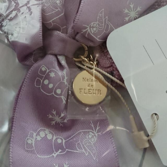 Maison de FLEUR(メゾンドフルール)のメゾン・ド・フルール×ディズニー アナ雪2 コラボポーチ レディースのファッション小物(ポーチ)の商品写真