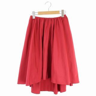 アベニールエトワール(Aveniretoile)のアベニールエトワール Aveniretoile フレアスカート 34 赤 レッド(ひざ丈スカート)