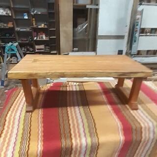 センダン 栴檀 一枚板 ローテーブル センターテーブル(ローテーブル)