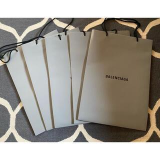 バレンシアガ(Balenciaga)のバレンシアガ  ショッパー5枚セット(ショップ袋)