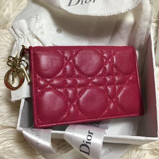 クリスチャンディオール(Christian Dior)のクリスチャンディオール カードケース 美品 (名刺入れ/定期入れ)